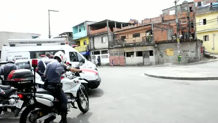 Operação Saturação da PM combate violência em favela paulista