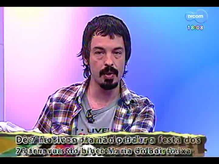 Programa do Roger - Confira a entrevista com o músico Jorge Salomão - bloco 3 - 22/02/2013