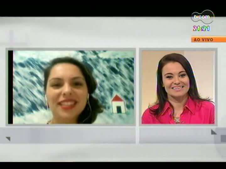 TVCOM Tudo Mais - Conversa com a cantora e compositora Gisele de Santi