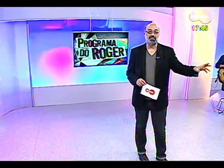 Programa do Roger - Guitarrista Márcio Philomena fala sobre seleção para o Festival de Montreux - bloco 1 - 01/07/2013