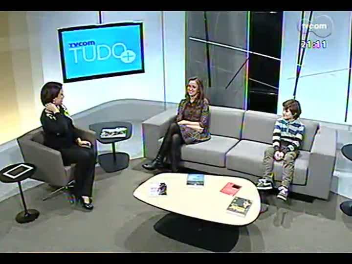 TVCOM Tudo Mais - Uma conversa com o ator e a diretora do curta \'Pierre e a mochila\'