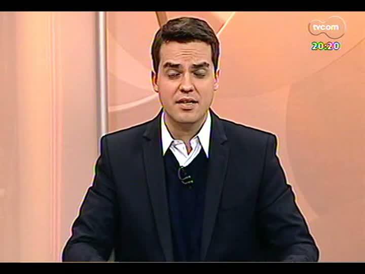 TVCOM 20 Horas - Depois de seis anos o Rio Grande do Sul retoma o terceiro lugar entre os estados exportadores - Bloco 3 - 25/07/2013