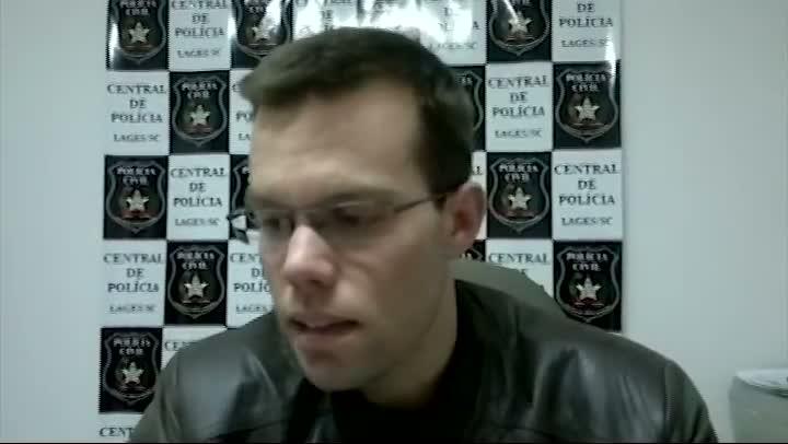 Entrevista com o delegado responsável pelo caso do sequestro em Lages