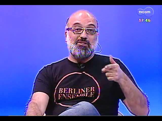 Programa do Roger - Entrevista com o artista convidado da Fundação Iberê Camargo, Jander Rama - bloco 1 - 19/11/2013