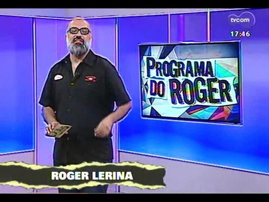 Programa do Roger - Bate-papo e o som do rapper Nitro Di - Bloco 1 - 18/12/2013