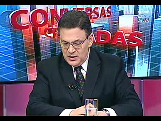Conversas Cruzadas - Debate sobre o projeto de lei que proíbe cidadãos de usar máscaras - Bloco 3 - 20/02/2014