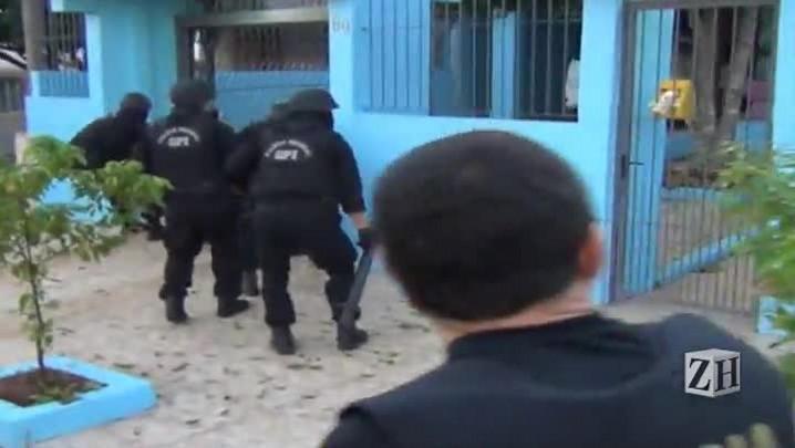 Veja imagens da operação da Polícia Federal contra tráfico internacional no RS