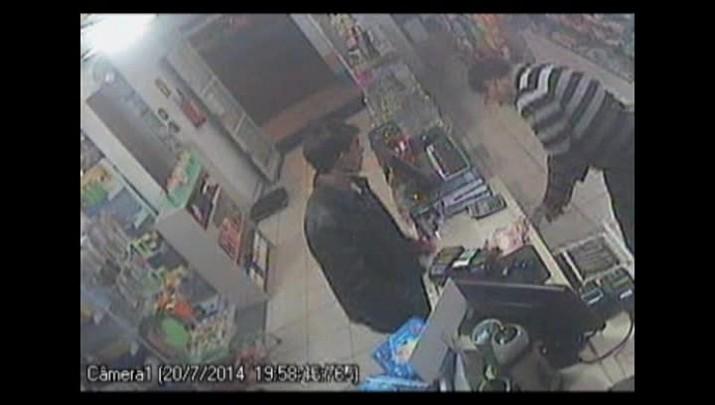 Assalto a farmácia no bairro Tancredo Neves