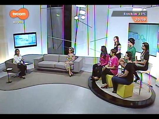 TVCOM Tudo Mais - Outubro Rosa: Confira uma conversa sobre o câncer de mama com a plateia do Tudo+