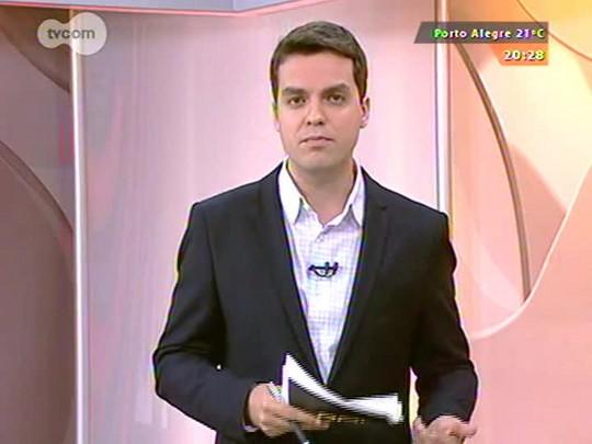 TVCOM 20 Horas - Ciclovias: qual o cronograma de obras estabelecido pela prefeitura de Porto Alegre? - Bloco 3 - 16/10/2014