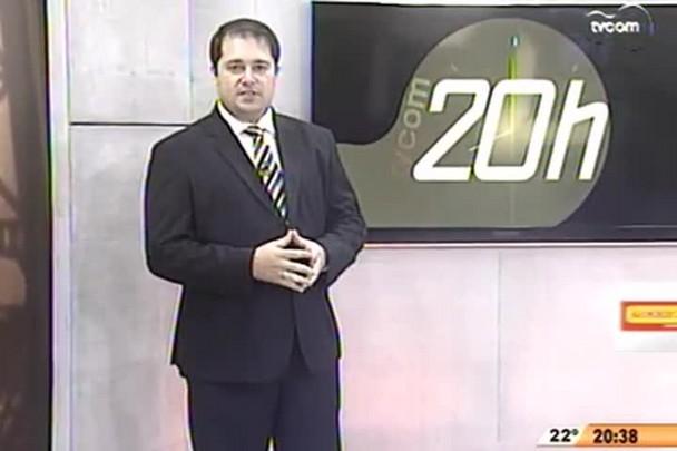 TVCOM 20h - Reta final das eleições - 3°Bloco - 23.10.14