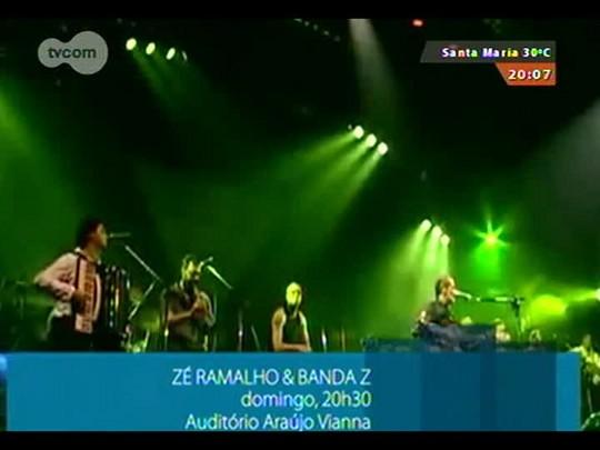 #PortoA - Zé Ramalho faz show no Auditório Araújo Vianna em POA