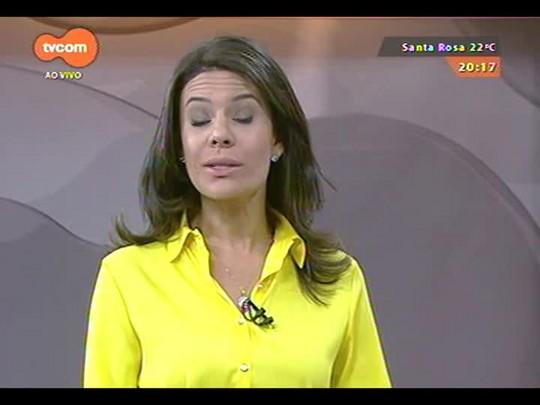 TVCOM 20 Horas - Mais um grupo de haitianos chega a Porto Alegre - 01/12/2014