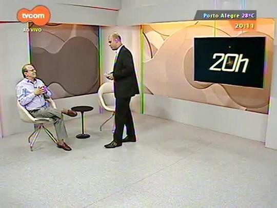 TVCOM 20 Horas - Governador Tarso Genro faz um balanço dos últimos quatro anos no RS - parte 1 - 30/12/2014