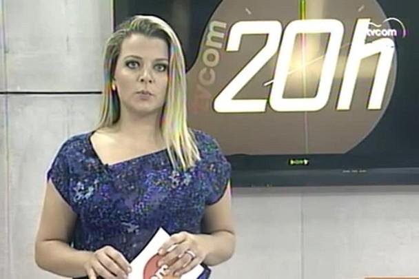 TVCOM 20h - Governador e vice de SC tomam posse oficialmente nesta quinta-feira, às 19h30 - 31.12.14