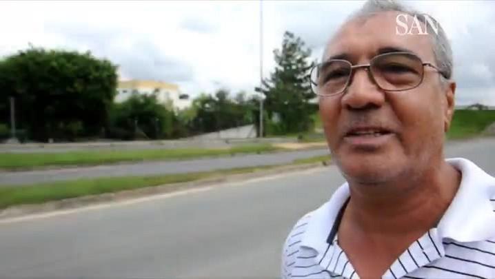 Morador reclama de abandono de prédio próximo à rodoviária de Blumenau