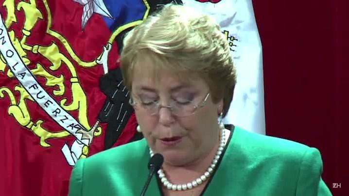 Bachelet anuncia novo gabinete no Chile