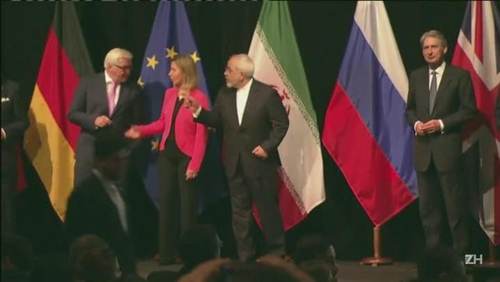 Irã e potências mundiais concluem acordo sobre programa nuclear
