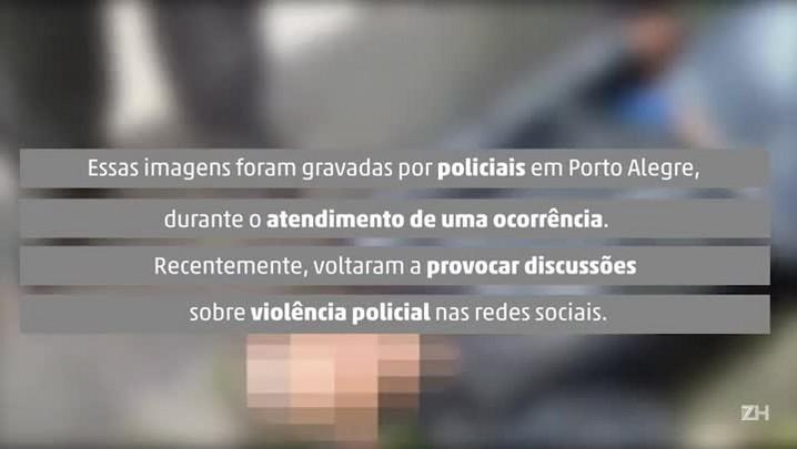Imagens polêmicas revelam abuso policial em Porto Alegre