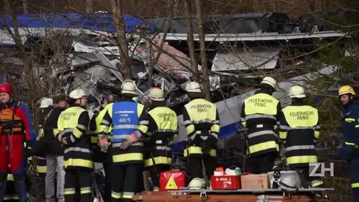 \'Erro humano\' provocou acidente de trens na Alemanha