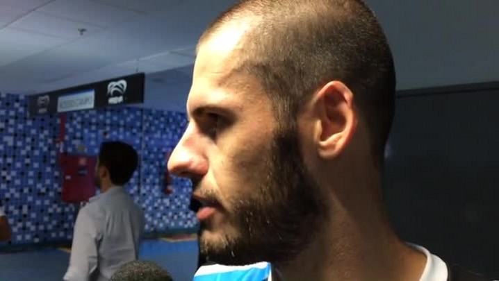 Autor de gol, Fred comenta o empate com San Lorenzo