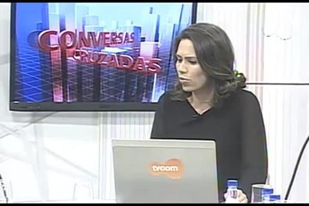 TVCOM Conversas Cruzadas. 3º Bloco. 12.05.16