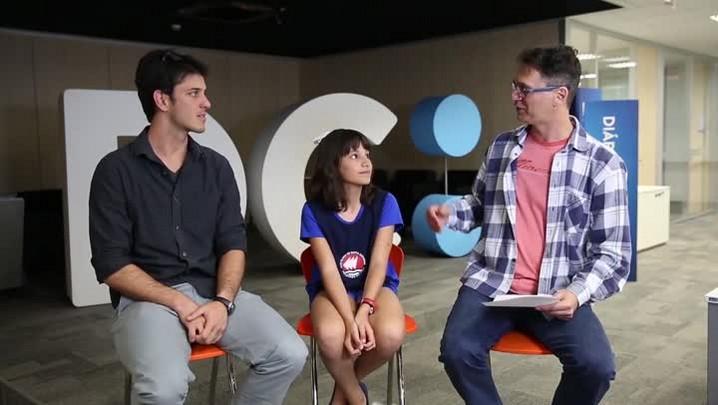 DC Esportes: Castiel entrevista velejadora mirim de Florianópolis