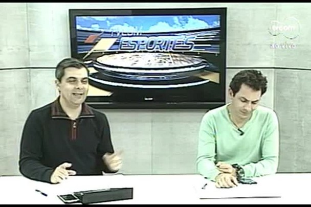 TVCOM Esportes. 3º Bloco. 21.10.16