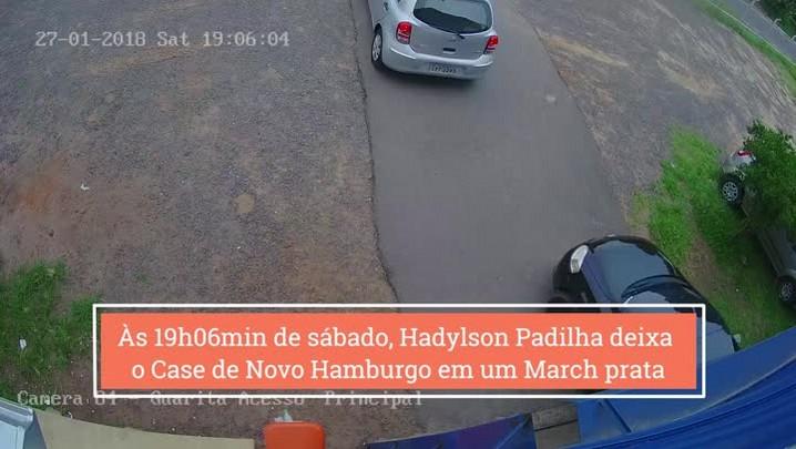 Imagens mostram quando agente do Case foge antes de ser morto a tiros