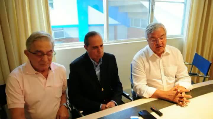 Em tom pacífico, Koff e Odone fazem primeira reunião de transição no Grêmio