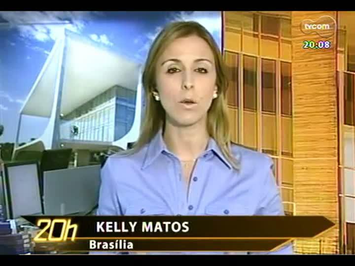 TVCOM 20 Horas - Brasília manda sinal vermelho para amplicação do terminal de cargas do Aeroporto Salgado Filho - Bloco 2 - 22/02/2013