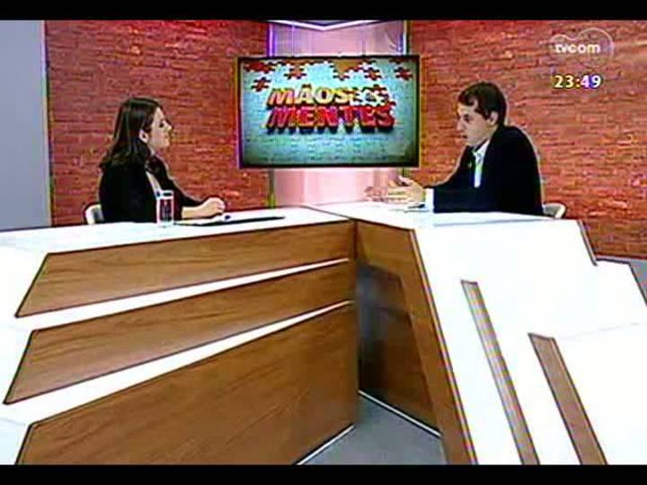 Mãos e Mentes - Doutora em Física, professora e pesquisadora Cristina Furlanetto - Bloco 2 - 16/05/2013