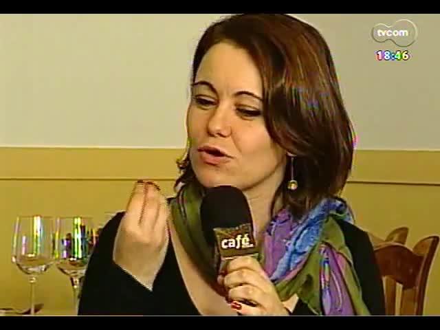 Café TVCOM - Zezé Motta e o Porto Alegre em Cena - Bloco 4 - 07/09/2013