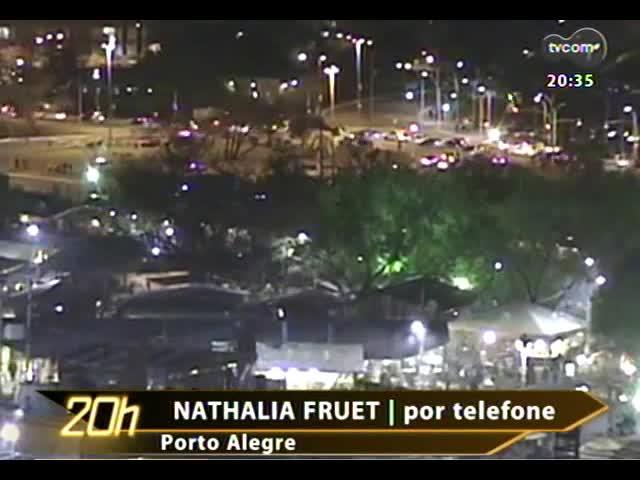 TVCOM 20 Horas - Saiba mais sobre a proposta que quer restringir trânsito de veículos no centro de POA - Bloco 3 - 19/09/2013