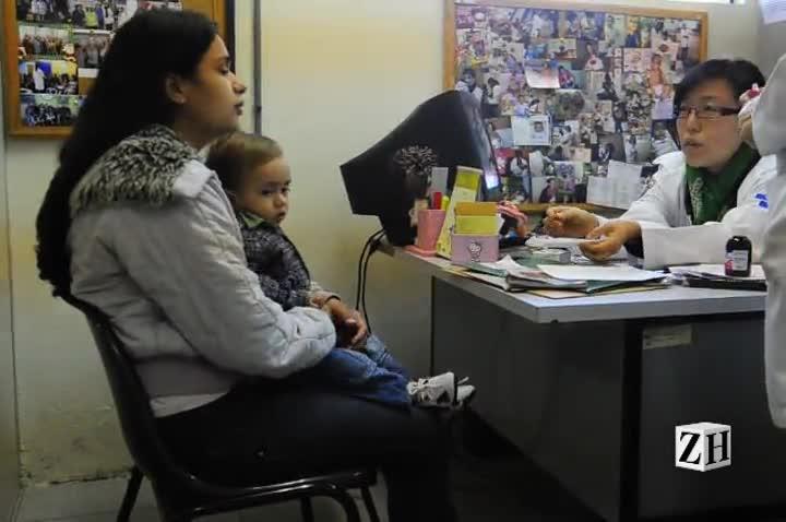 Médica argentina do Mais Médicos atende em Porto Alegre