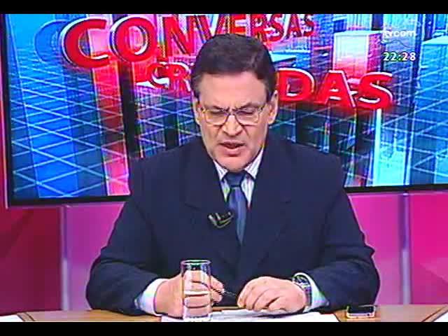 Conversas Cruzadas - O favoritismo de Dilma para as eleições de 2014 apontado pelo Ibope e as repercussões dos fatos da semana nesse cenário - Bloco 2 - 25/10/2013