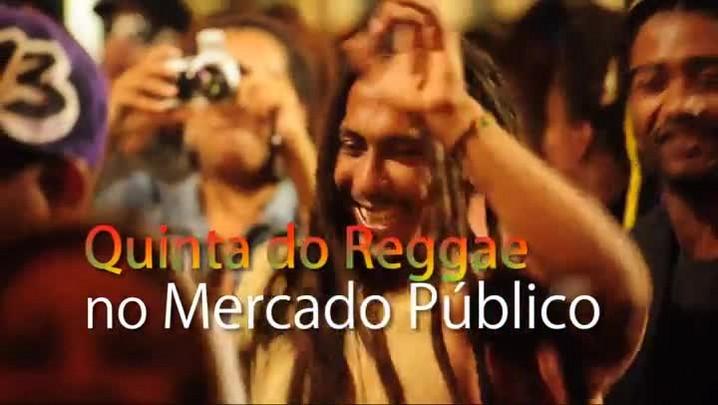 Quinta do Reggae no Mercado Público