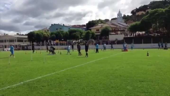 Grêmio realiza terceiro dia de treinos em Bento Gonçalves. 13/01/2014