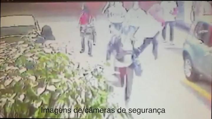 Confira imagens da confusão envolvendo torcidas do Inter em posto de gasolina. 21/07/2014