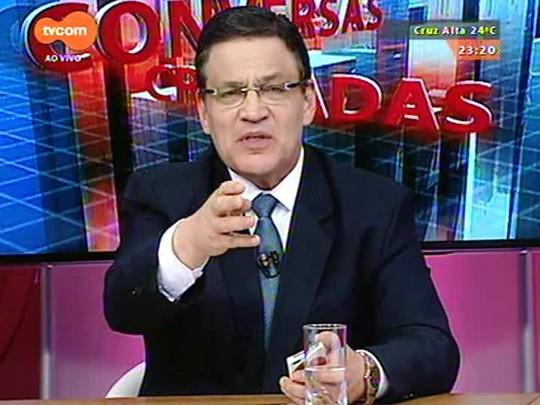 Conversas Cruzadas - Com a composição dos novos governos federal e estadual fica a pergunta: que Brasil saiu das urnas? - Bloco 4 - 29/12/2014