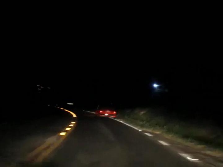 Motorista de Fusca é flagrado dirigindo em zigue-zague na ERS-122, entre Vila Maestra (Caxias) e Flores da Cunha