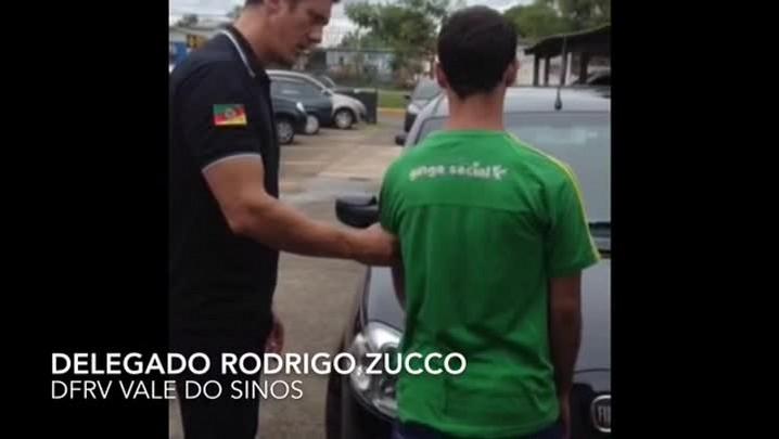 Apenado roubava carros e escondia em estacionamento de presídio de São Leopoldo