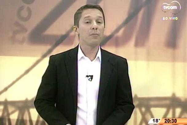 TVCOM 20 Horas - Estacionamentos no Centro de Florianópolis sofrem reajuste de R$ 0.50 - 02.07.15