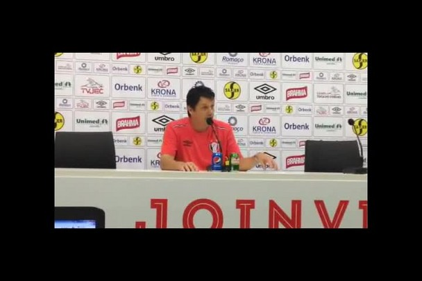 Confira trechos da entrevista coletiva de Adilson Batista após derrota do JEC para o Inter