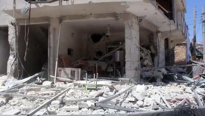 Rússia bombardeia rebeldes sírios