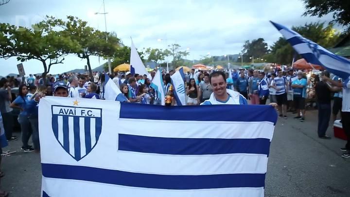 Avaí na série A: a festa dos torcedores do time em Florianópolis