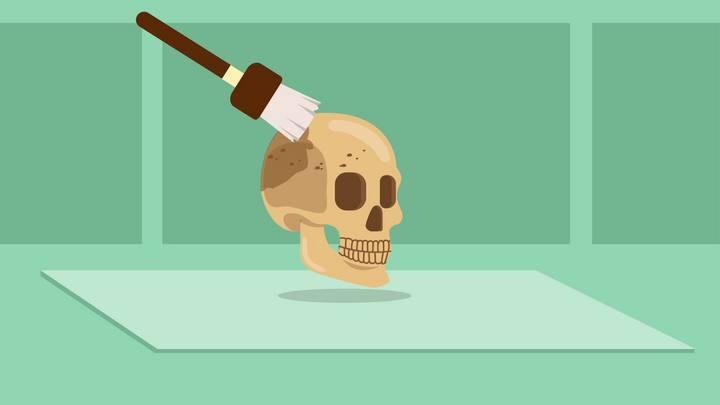Como uma ossada ganha rosto