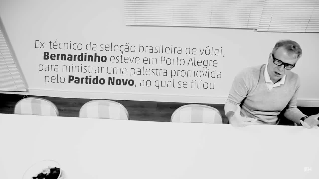 Bernardinho fala sobre seleção, Rio 2016 e política
