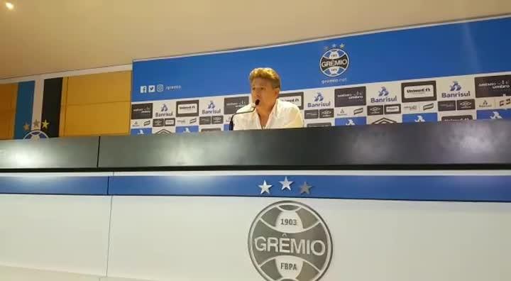 Renato comenta derrota do Grêmio