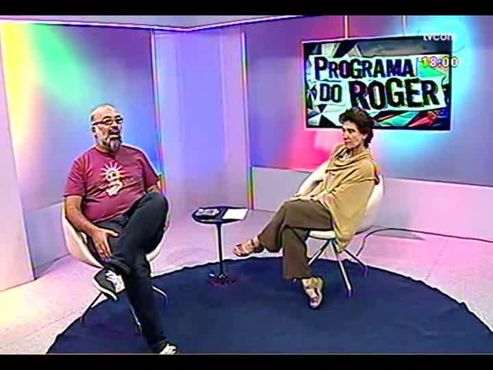 Programa do Roger - Coreógrafa Bia Diamante fala sobre espetáculo - bloco 2 - 28/02/2013